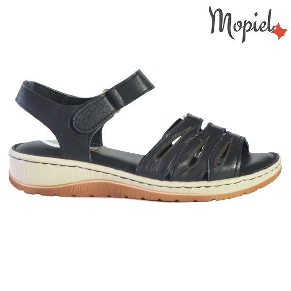Sandale dama din piele naturala 251120 Negru Tania