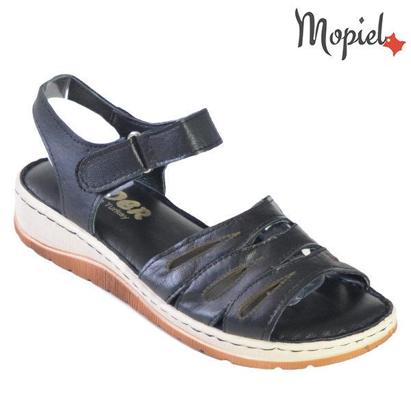Sandale dama din piele naturala 251120 Negru Tania incaltaminte dama