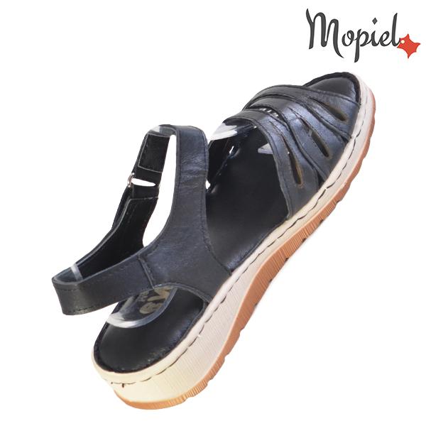 Sandale dama din piele naturala 251120 Negru Tania incaltaminte ieftina