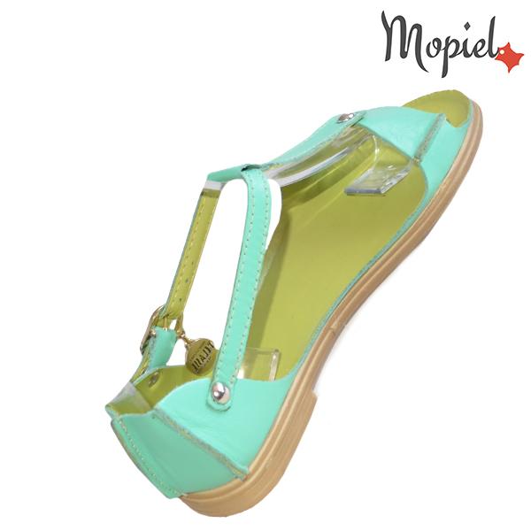Sandale dama, din piele naturala 25206 Verde Sinem incaltaminte ieftina