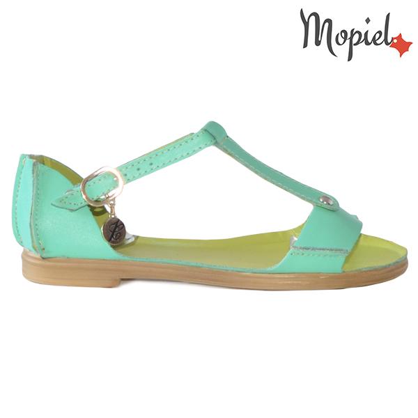 Sandale dama, din piele naturala 25206 Verde Sinem