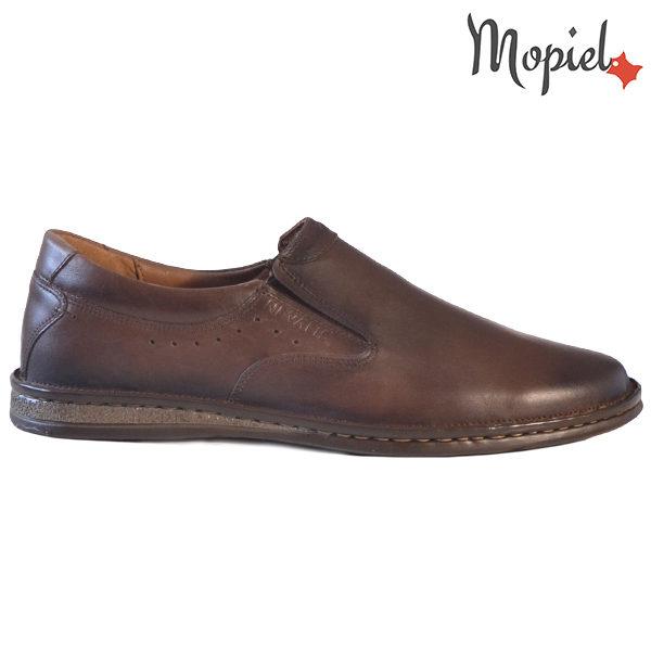 Pantofi barbati, din piele 130406 170 Maro-TDM Geraldo