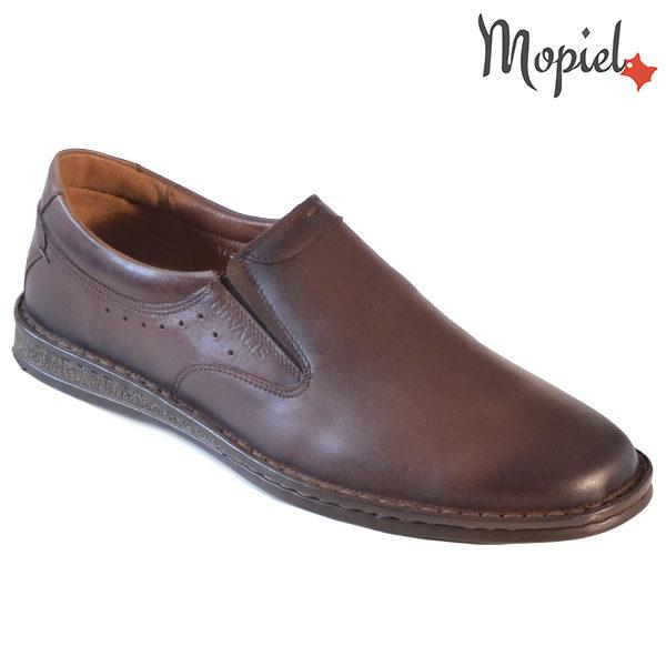 Pantofi barbati, din piele 130406 170 Maro-TDM Geraldo incaltaminte barbati din piele