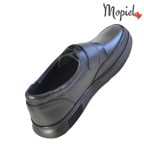 Pantofi barbati, din piele naturala 113114 Negru Addison incaltaminte baieti