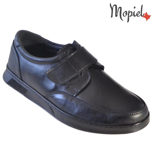 Pantofi barbati, din piele naturala 113114 Negru Addison incaltaminte barbati
