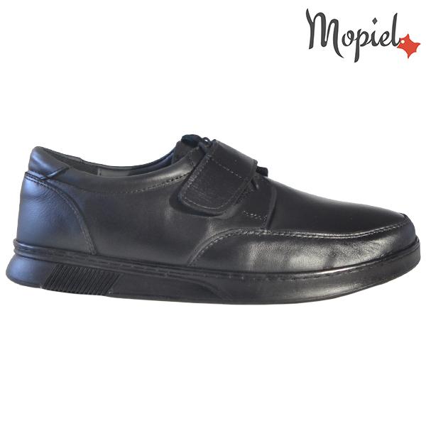 Pantofi barbati, din piele naturala 113114 Negru Addison