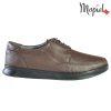 Pantofi barbati, din piele naturala 131112 Maro Addison
