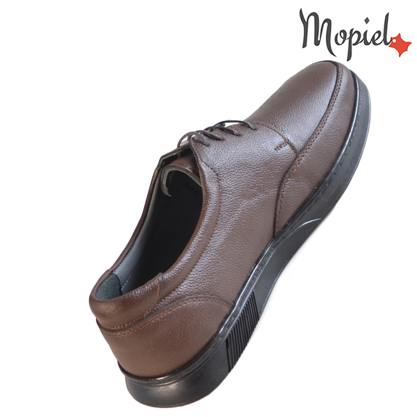 Pantofi barbati, din piele naturala 131112 Maro Addison fashion incaltaminte