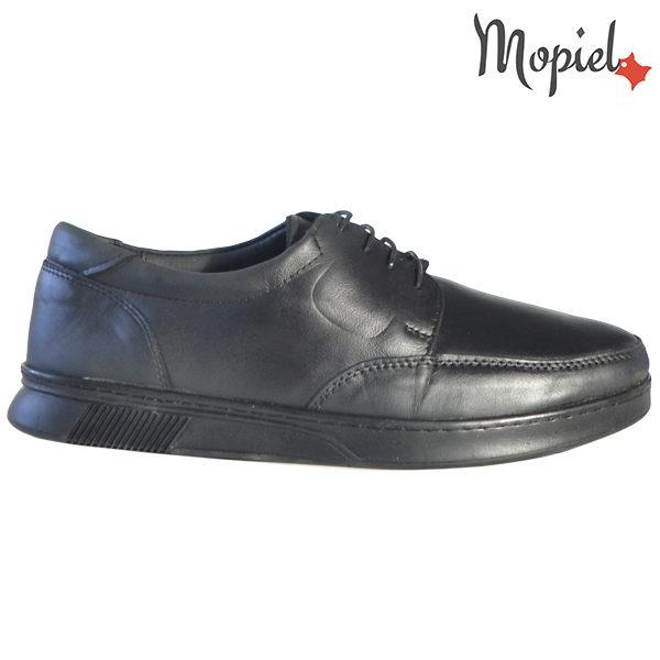 Pantofi barbati, din piele naturala 131112 Negru Arturo
