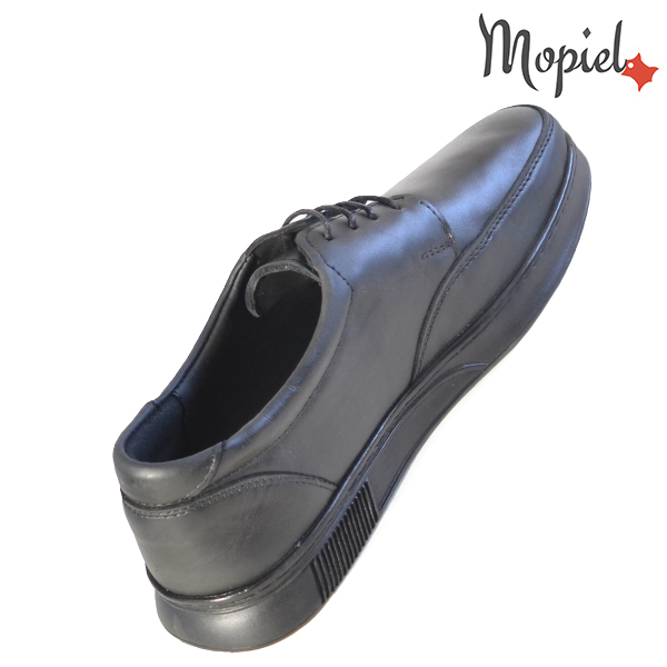 Pantofi barbati, din piele naturala 131112 Negru Arturo incaltaminte online