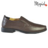 Pantofi barbati, din piele naturala 131113 Maro Aiden
