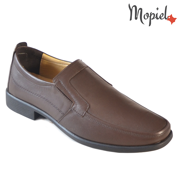 Pantofi barbati, din piele naturala 131113 Maro Aiden incaltaminte online