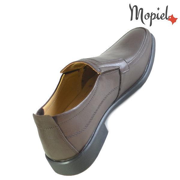 Pantofi barbati, din piele naturala 131113 Maro Aiden reduceri incaltaminte