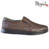 Pantofi barbati, din piele naturala 131113 Maro-Bizonte Addison