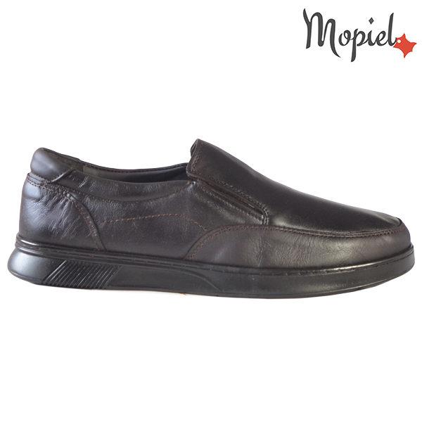 Pantofi barbati, din piele naturala 131113 Maro-TDM Addison