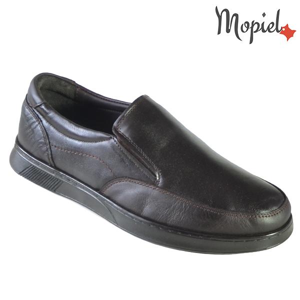 Pantofi barbati, din piele naturala 131113 Maro-TDM Addison incaltaminte barbati