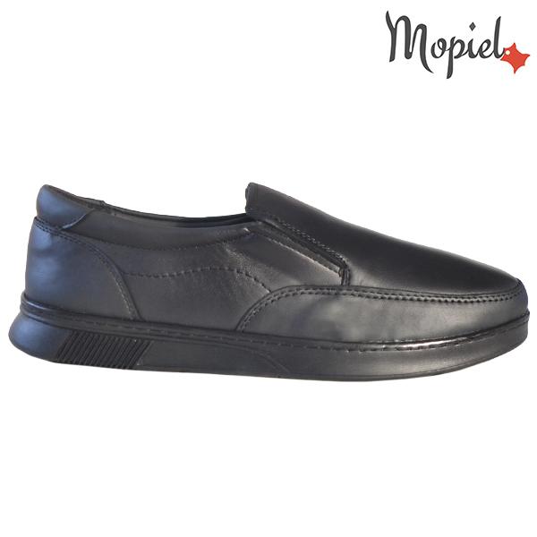 Pantofi barbati, din piele naturala 131113 Negru Bart incaltaminte barbati