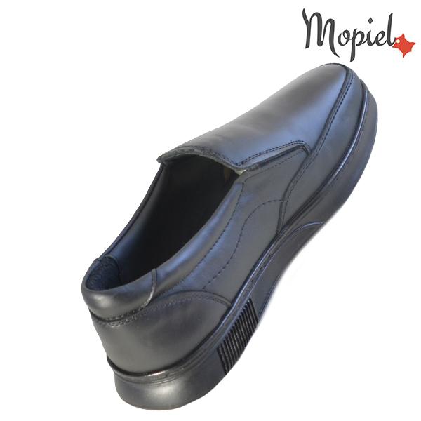 Pantofi barbati, din piele naturala 131113 Negru Bart incaltaminte fashion