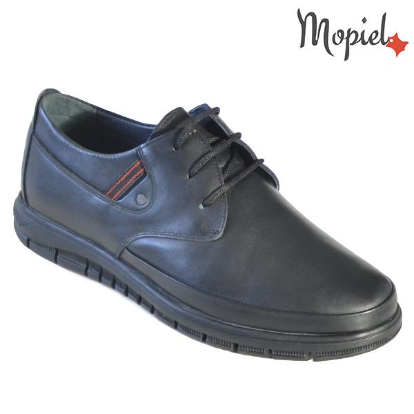 Pantofi barbati, din piele naturala 131115 Negru Brent incaltaminte barbati