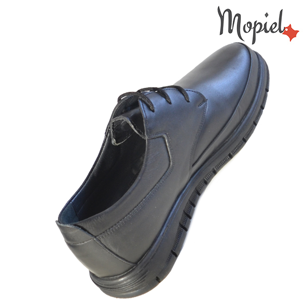 Pantofi barbati, din piele naturala 131115 Negru Brent incaltaminte ieftina