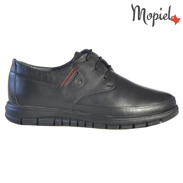 Pantofi barbati, din piele naturala 131115 Negru Brent
