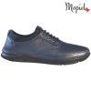 Pantofi barbati, din piele naturala 131116 Bleumarin-Bisonte Casian