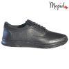 Pantofi barbati, din piele naturala 131116 Negru-Bisonte Casian