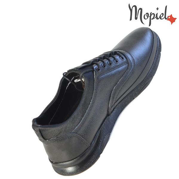 Pantofi barbati, din piele naturala 131116 Negru-Bisonte Casian incaltaminte fashion
