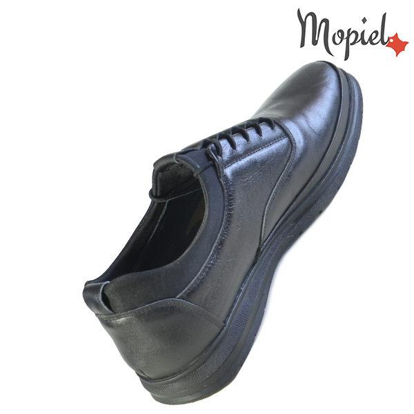 Pantofi barbati, din piele naturala 131116 Negru Casian incaltaminte online