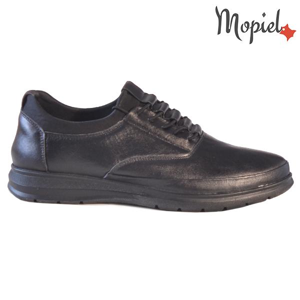 Pantofi barbati, din piele naturala 131116 Negru Casian