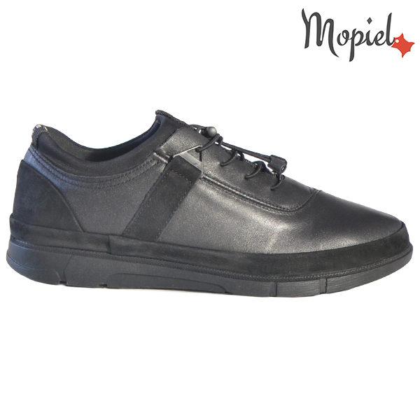 Pantofi barbati, din piele naturala 131117 Negru Oliver