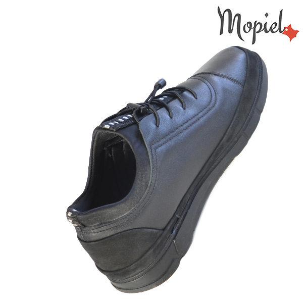 Pantofi barbati, din piele naturala 131117 Negru Oliver incaltaminte fashion