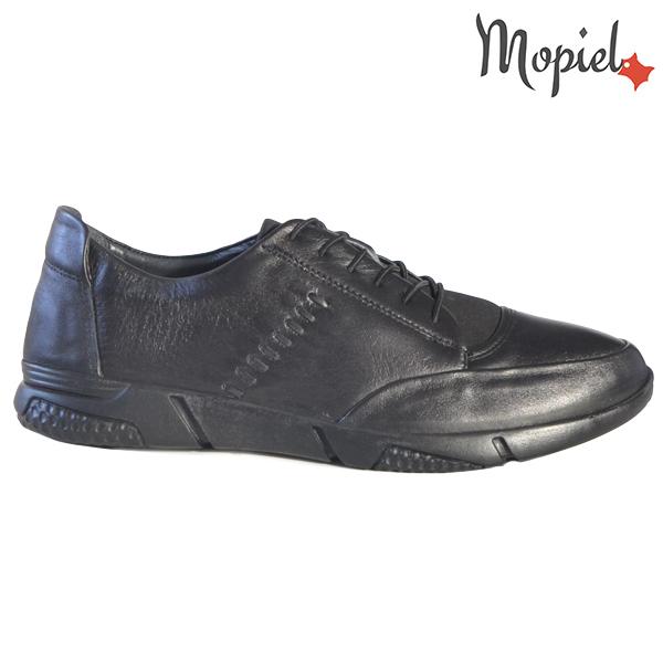 Pantofi barbati, din piele naturala 131118 Negru Cosma incaltaminte barbati