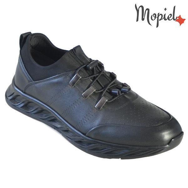 Pantofi barbati, din piele naturala 131120 Negru Darrin incaltaminte barbati
