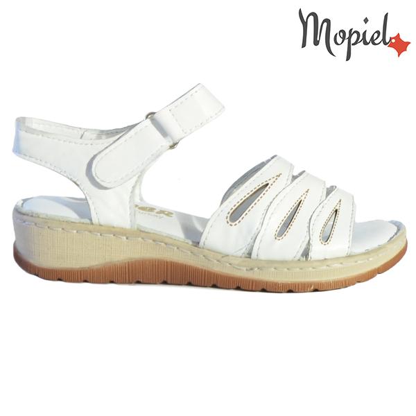 Sandale dama din piele naturala 251120 Alb Tania