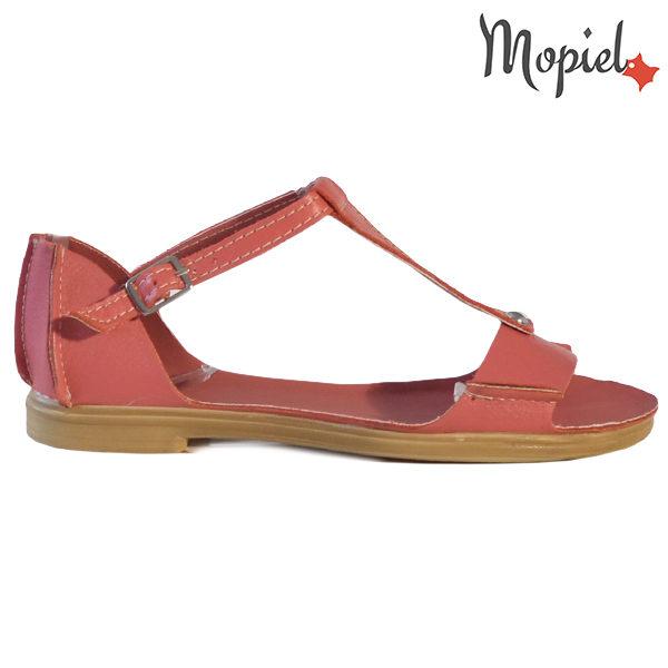 Sandale dama, din piele naturala 25206 Rosu Sinem