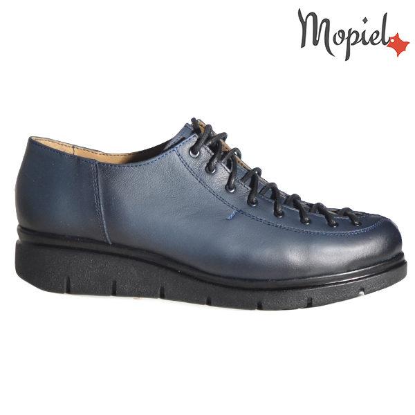 Pantofi dama, din piele naturala 230101 333 Albastru Flora