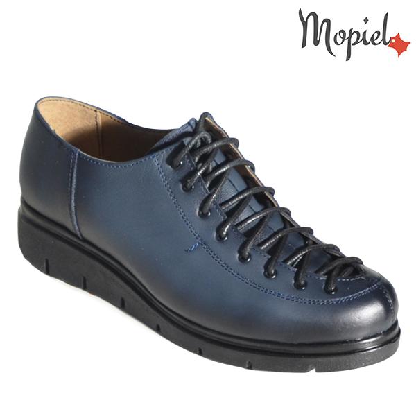 Pantofi dama, din piele naturala 230101 333 Albastru Flora incaltaminte dama