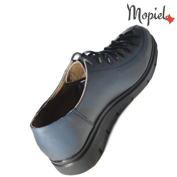 Pantofi dama, din piele naturala 230101 333 Albastru Flora incaltaminte fashion