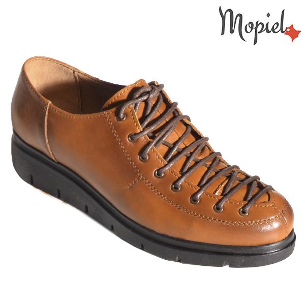 Pantofi dama, din piele naturala 230101 333 Maro Flora incaltaminte online
