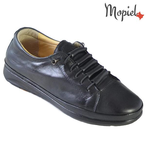 Pantofi dama, din piele naturala 231111 Negru Petra incaltaminte dama