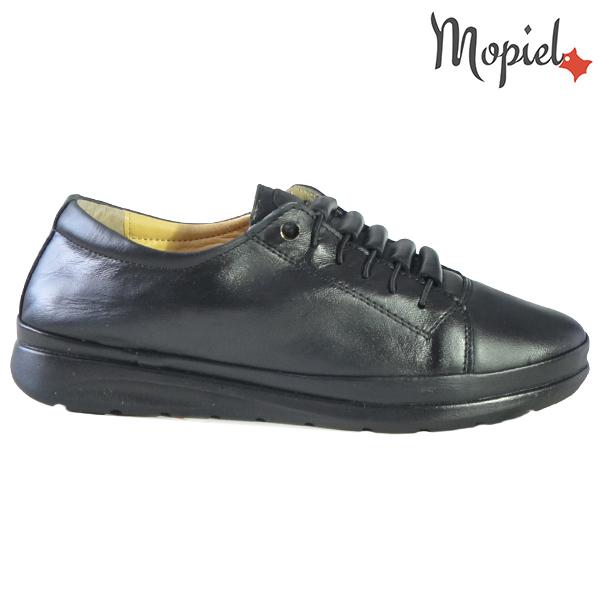 Pantofi dama, din piele naturala 231111 Negru Petra