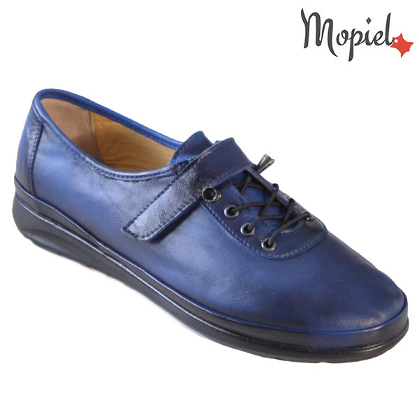 Pantofi dama, din piele naturala 231114 Bleumarin Gilda incaltaminte dama