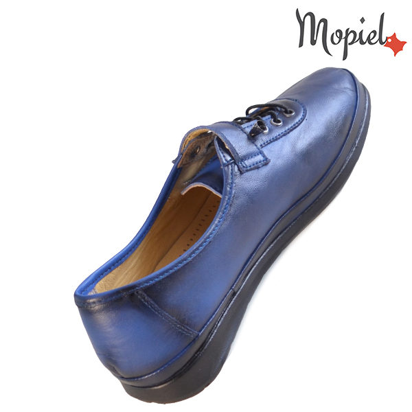 Pantofi dama, din piele naturala 231114 Bleumarin Gilda incaltaminte piele