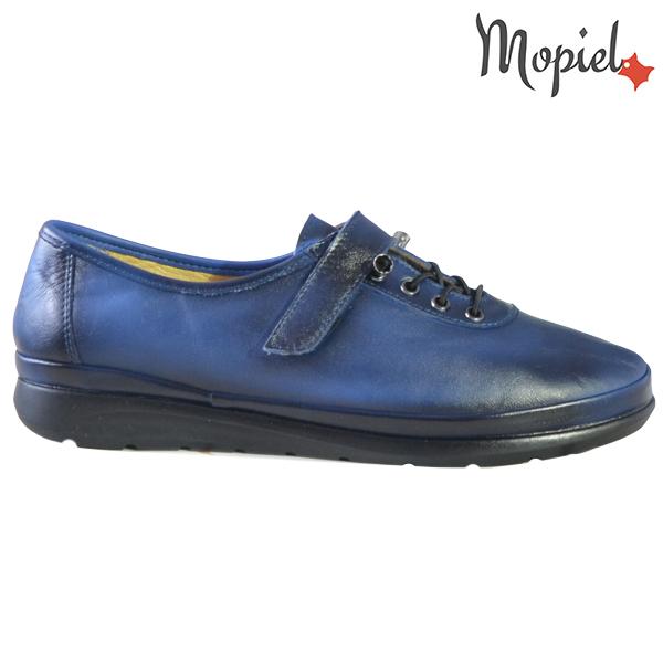 Pantofi dama, din piele naturala 231114 Bleumarin Gilda