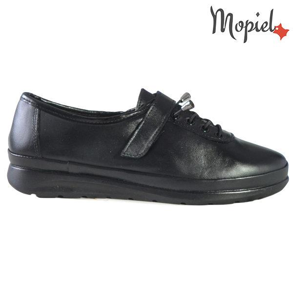 Pantofi dama, din piele naturala 231114 Negru Gilda