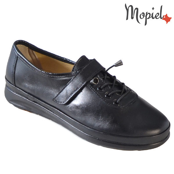 Pantofi dama, din piele naturala 231114 Negru Gilda incaltaminte ieftina