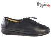 Pantofi dama, din piele naturala 231115 Negru Iovana