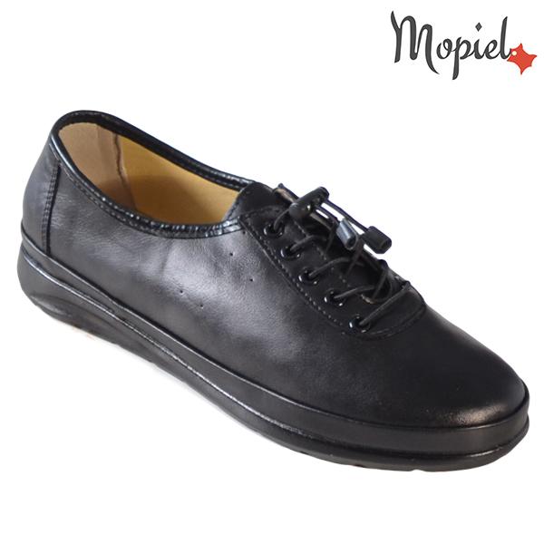 Pantofi dama, din piele naturala 231115 Negru Iovana incaltaminte dama