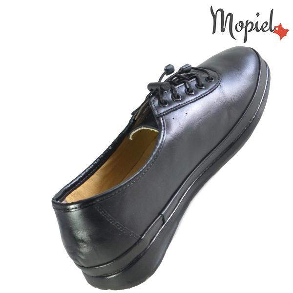 Pantofi dama, din piele naturala 231115 Negru Iovana incaltaminte ieftina